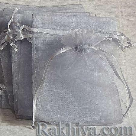 Organza bags silver