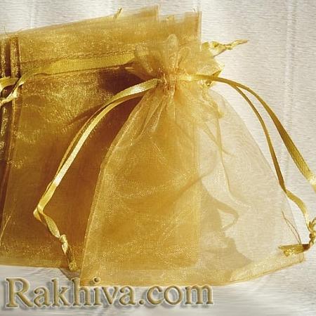 Organza bags gold