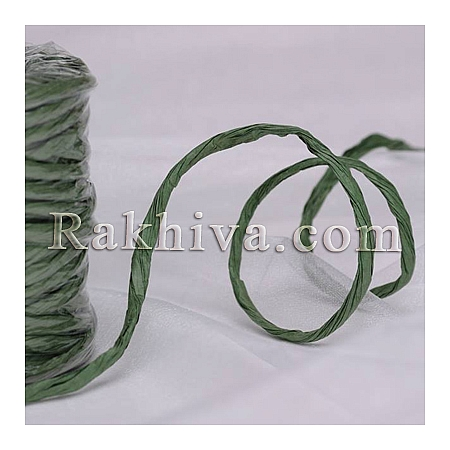 Paper rope  Twist , green, 25m (11/25/6364)