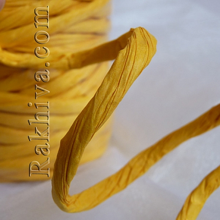Paper rope  Twist , yellow, 25m (11/25/6372)
