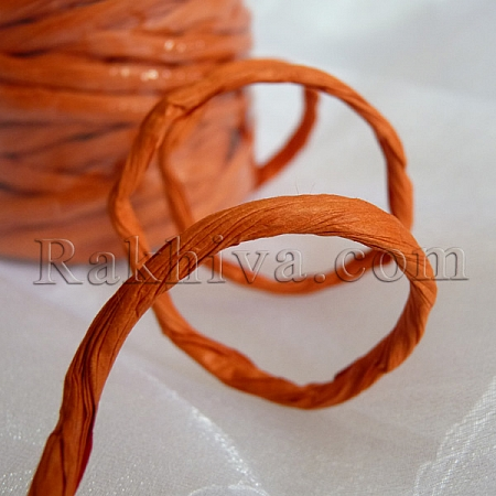 Paper rope  Twist , orange, 25m (11/25/6375)