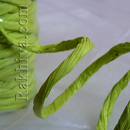 Paper rope  Twist , limegreen, 25m (11/25/6361)