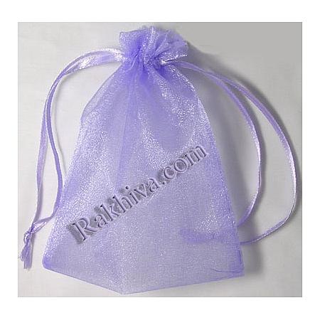 Organza bags purple, 5 cm/7 cm, (5/7/8290-1)