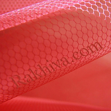 Tulle wedding - coral, coral (84/47-1) (1 m)
