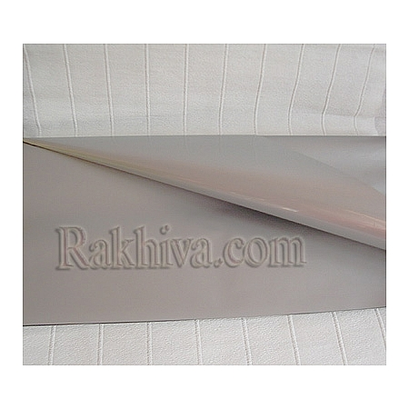 OPP wrapping paper, silver (50/50/13300)