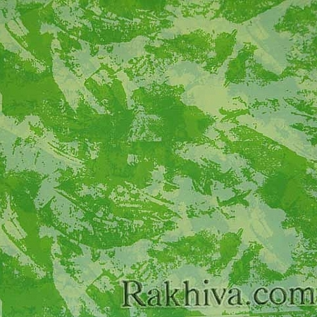 OPP wrapping paper (bicoloured), lime green , ecru  (50/50/61361-12)