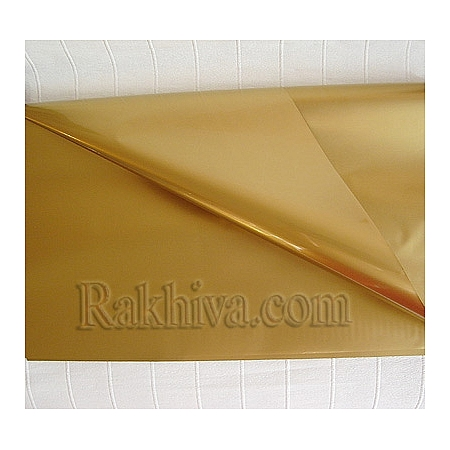 OPP wrapping paper, gold (50/50/13200)