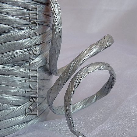 Paper rope  Twist , silver, 25m (11/25/63300)