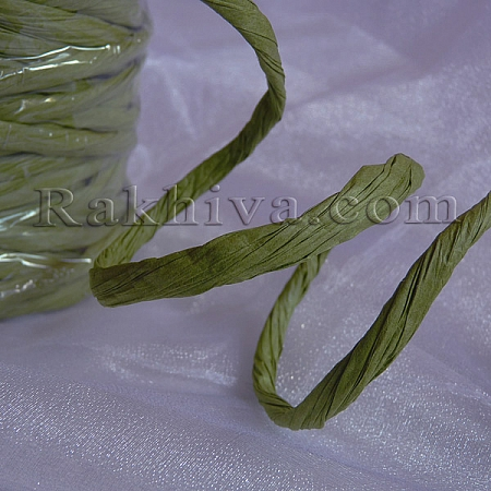 Paper rope  Twist , pea green, 25m (11/25/6362)