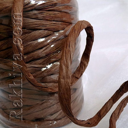 Paper rope  Twist , brown, 25m (11/25/6334)