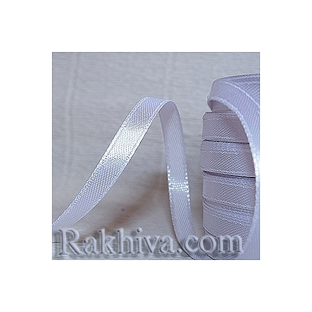 Satin ribbons - white, 3 mm/ 18 m 100/(3/18/2310)