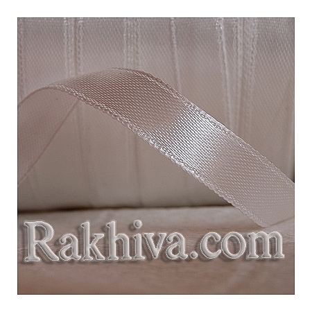 Satin ribbons - ivory, 3 mm/ 18 m (3/18/2314)