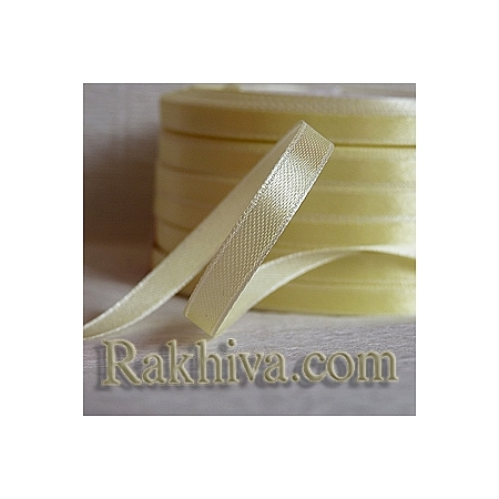 Satin ribbons - champagne, 3 mm/ 20 m 102/(3/20/2313)