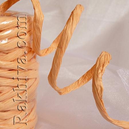 Paper rope  Twist, peach, 25m (11/25/6348)