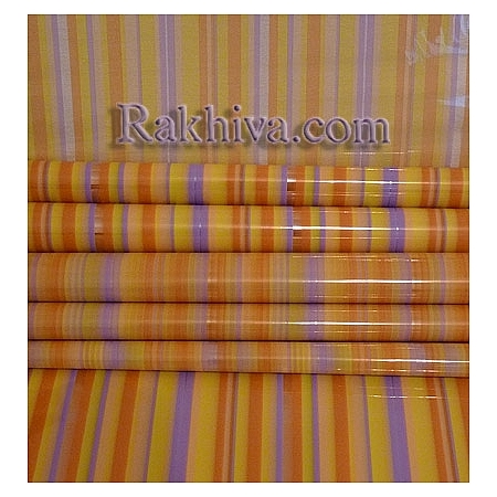 OPP wrapping paper  Rainbow (bicoloured), palette (50/50/31375)
