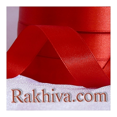 Satin ribbons - red, 3 mm/ 18 m 195/(3/18/2380)