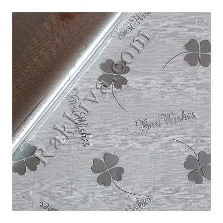 OPP wrapping paper, silver (50/50/413300)