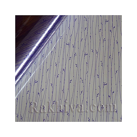 OPP wrapping paper, purple (50/50/101390)