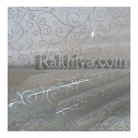 OPP wrapping paper, silver (50/50/213300)