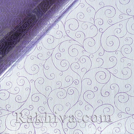 OPP wrapping paper, purple (50/50/21390)