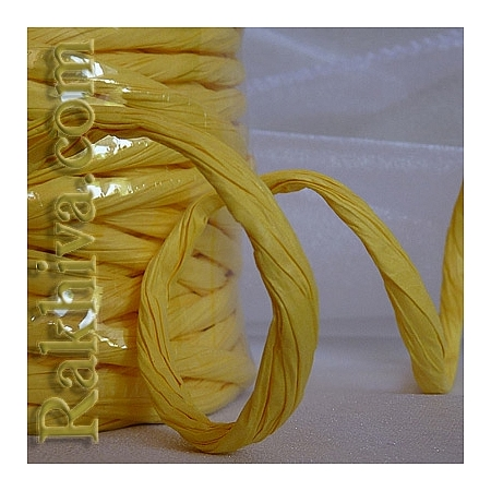Paper rope  Twist , lt. yellow, 25m (11/25/6370)