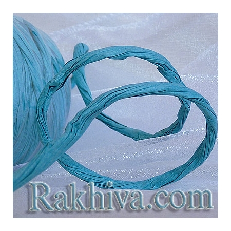 Paper rope  Twist, turquoise, 25m (11/25/6357)