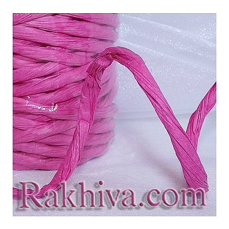 Paper rope  Twist, dark pink, 25m (11/25/6345)
