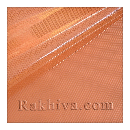 Gift wrapping cellophane, peach (50/50/51348)