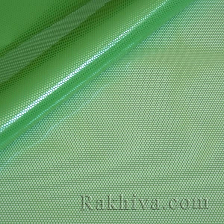 Gift wrapping cellophane, green (50/50/51362)
