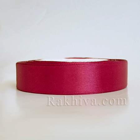 Satin ribbons - scarlet red, 3 mm/ 20 m 186/(3/20/2381)