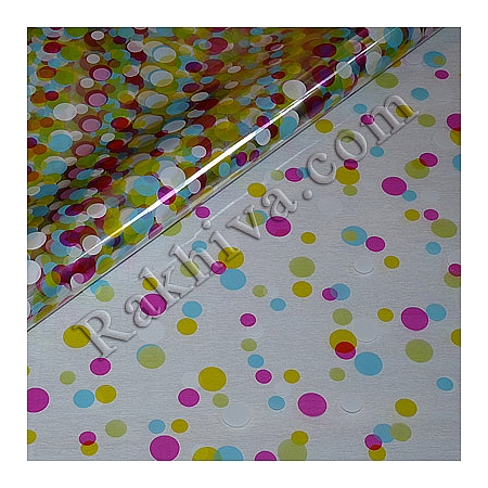 OPP wrapping paper Glee (multicoloured), multicoloured (50/50/713)