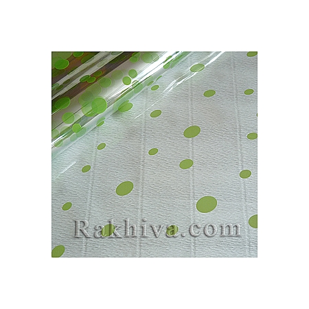 OPP wrapping paper Glee, lime green (50/50/8161)