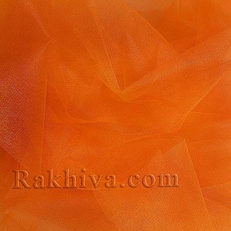 Crystal tulle orange, orange 1m (3 m2) 85/75