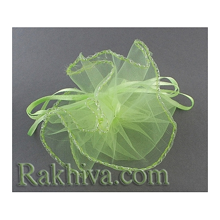 Organza bags circle apple, 26 cm, (26/8268)
