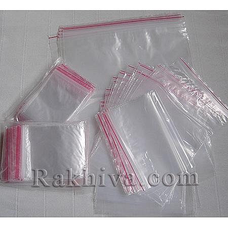 Zipper bags (Ziplock Plastic Bags), 7/9 cm