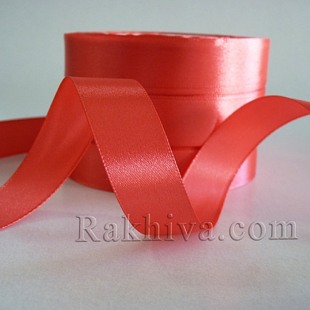 Satin ribbons - salmon, 3 mm/ 20 m 194/(3/20/2347)