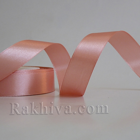 Satin ribbons - blush, 1 roll 10 mm/ 25 Y 174/(10/25/2333)