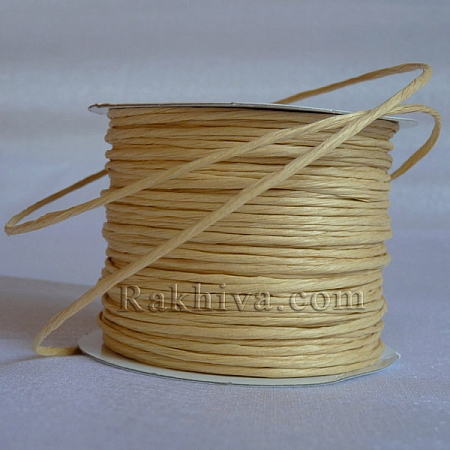 Paper rope (wired), natural (2/25/6130) (roll 22,50m)