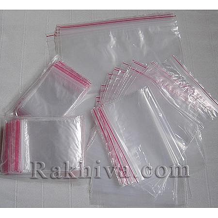 Zipper bags (Ziplock Plastic Bags), 7/20 cm