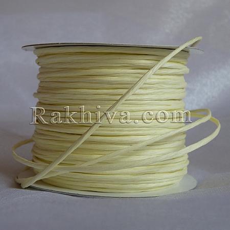 Paper rope (wired), ecru (2/25/6112) (roll 22,50m)
