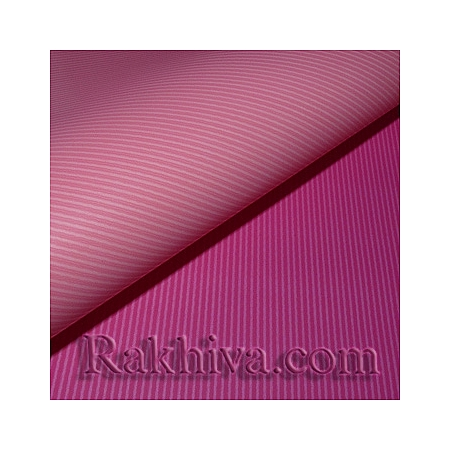 OPP wrapping paper (bicoloured), pink/ lt. pink (70/100/51140)
