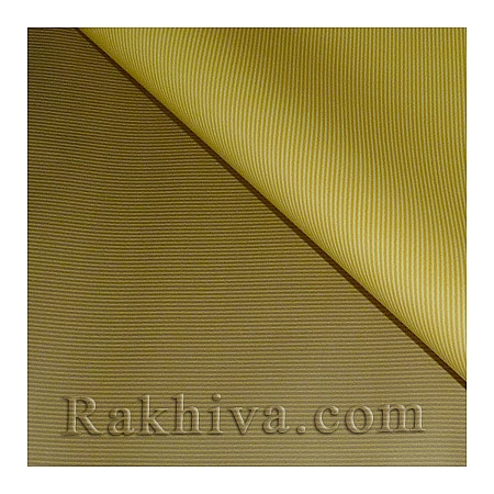 OPP wrapping paper (bicoloured), yellow/ gold (70/100/51170-200)