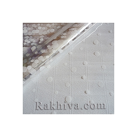 Cellophane sheets 100/100cm, 100 cm х 100 cm (sheets) white  (100/100/8110)