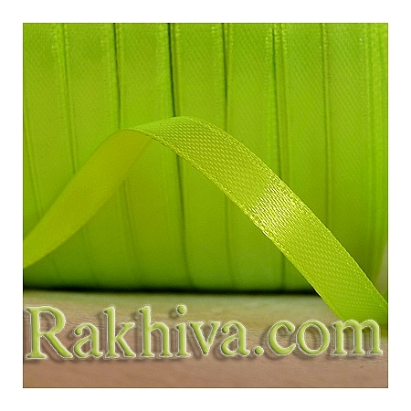Satin ribbons - lime green, 3 mm/ 20 m 132/(3/20/2363)