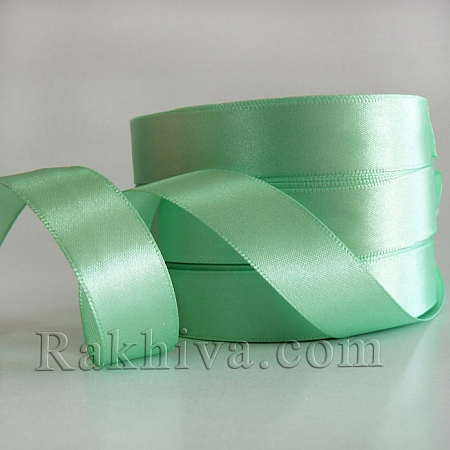 Satin ribbons - mint, 3 mm/ 20 m 150/(3/20/2360-2)