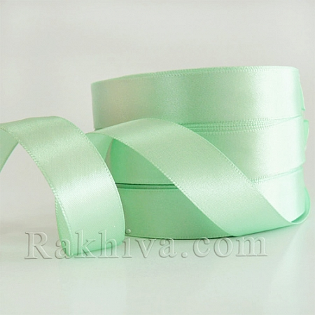 Satin ribbons - light mint, 3 mm/ 20 m 3/20/2360-3