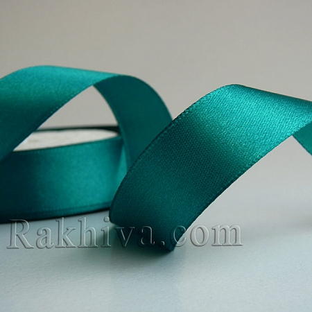 Satin ribbons - green, 6 mm/ 25 Y 154/(6/25/2360)