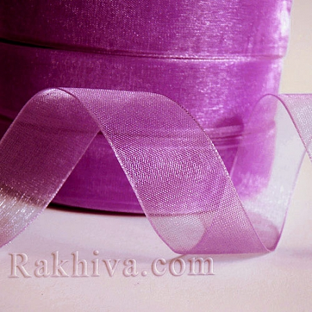 Organza ribbons Light plum, 1 roll Light plum (2mm/ 50Y) (20/50/2299)