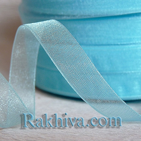 Woven ribbons Light Blue, lt. blue (6mm/ 500Y)  (6/500/2251)