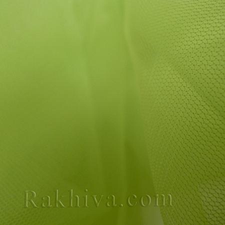 Italian tulle limegreen, limegreen 1m (3 m2) 86/61